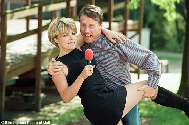Mrs Wadsworth told the court that 'word got around' that she and her husband (pictured together in 1997) were meeting in woodland for sexual liaisons so they stopped it