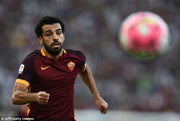 Liverpool Have £28m Bid For Mohamed Salah Rejected By Roma Daily