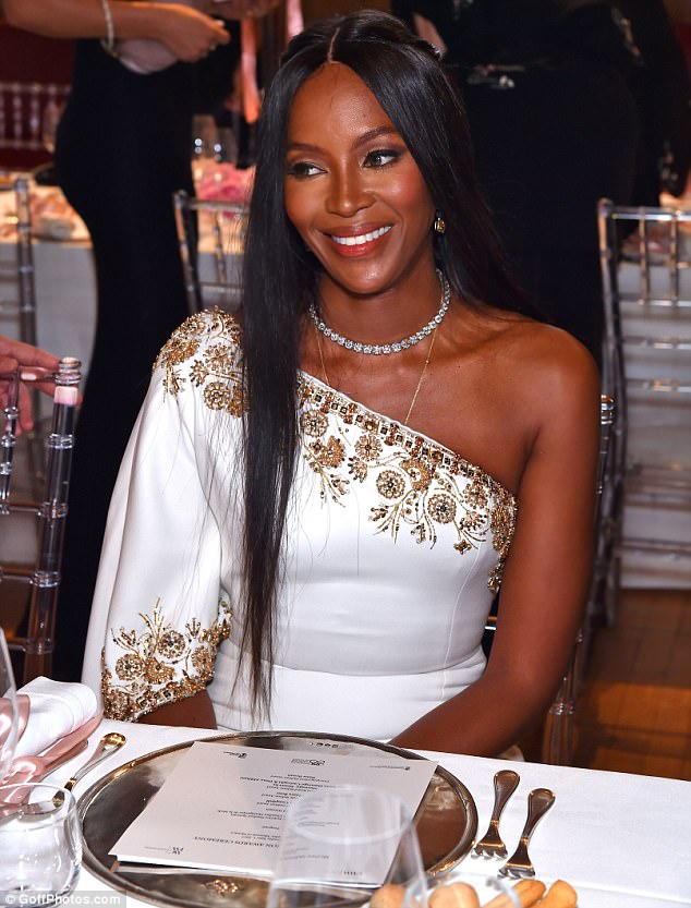 Image result for naomi campbell monaco 2017