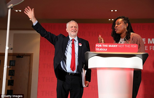 Labour Leader Jeremy Corbyn launches their party's 'Race and Faith' manifesto withBarbara Ntumy