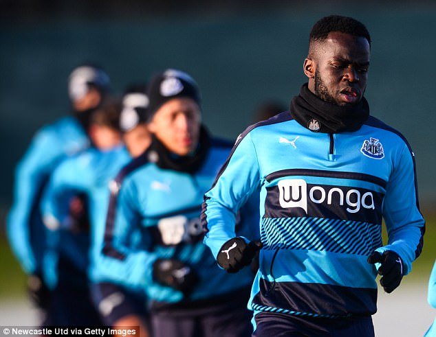 The Ivorian spent seven years with Newcastle United before moving to China