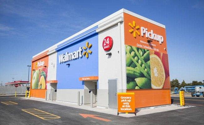 Walmart Introduces Grocery Pickup Kiosk To Take On Amazon