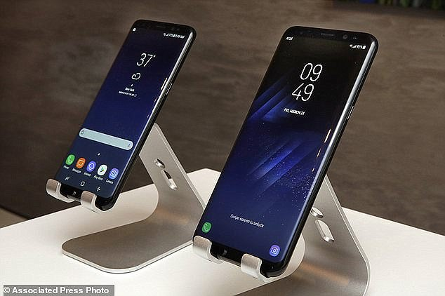 The latest report regarding the Android smartphone has suggested that the Note 8 is set to mirror that of the Galaxy S8 (pictured). Sources said Note 8 is set to include the Infinity display, which has an 18.5-to-9 width-to-length ratio that was first released in April with the S8 model