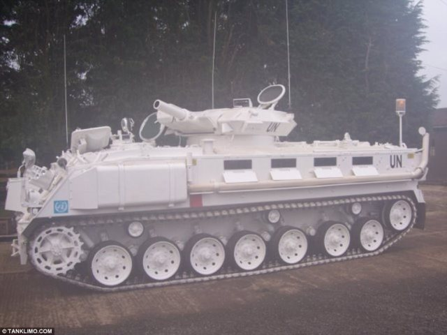 UK-based company Tanks-a-lot has a limo tank for rent, priced at around $5,000 a day. The armoured vehicle is apparently popular with wedding and birthday parties, with revellers keen to make a grand entrance
