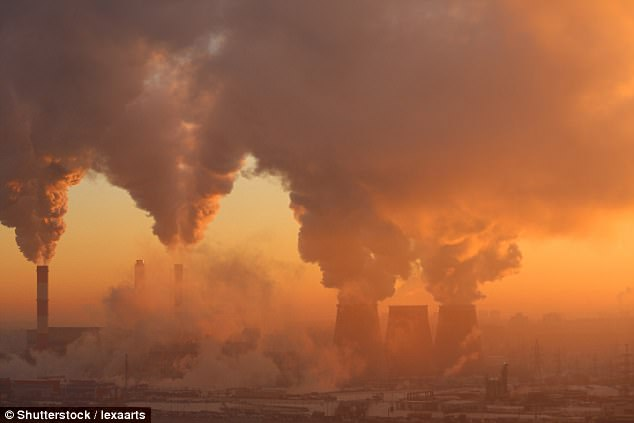 The author links the burning of coal and warming of the atmosphere - describing it as a 'blanket' for the Earth (stock image)