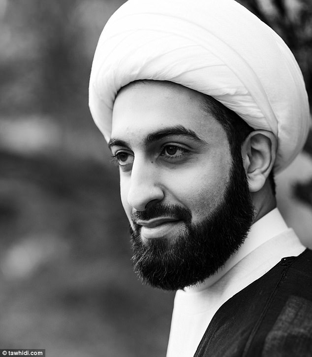 Sheikh Tawhidi (pictured) says under Islam Sharia law it is not 'wrong' or a 'sin' for a Muslim to kill a non-Muslim