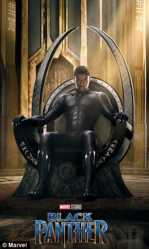 New Black Panther poster resembles iconic political photo