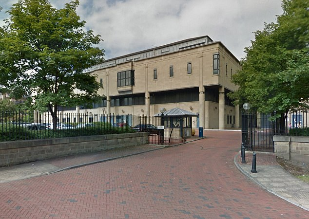 Faisal Hussein, 25, and Arbaaz Ahmed, 19, gave their mother and sister just £1 a month so they could buyessential sanitary products, Bradford Crown Court (pictured) heard