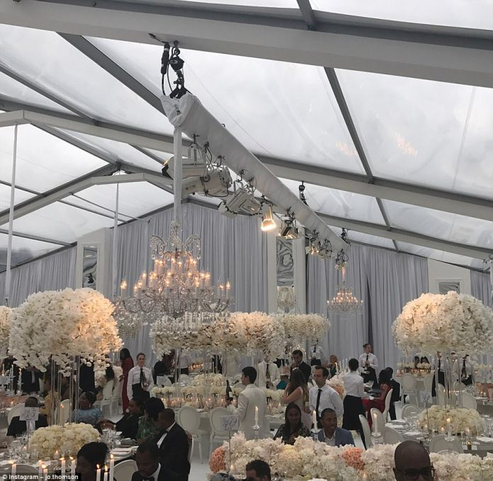 The event was planned by Sade Awe of The Bridal Circle. Sade's impeccable taste and selective eye for the exquisite make her a trusted resource for an elite clientele