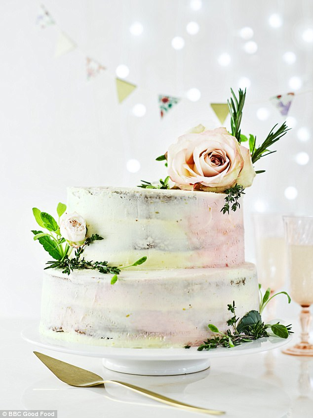 Bbc Good Food Magazine Shares Easy Wedding Cake Recipe Daily Mail