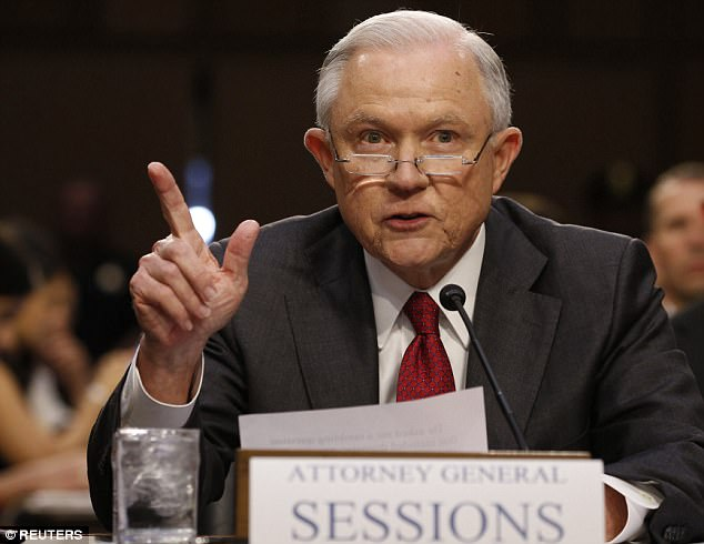 U.S. Attorney General Jeff Sessions testifies before a Senate Intelligence Committee hearing on Capitol Hill in Washington, U.S., June 13, 2017