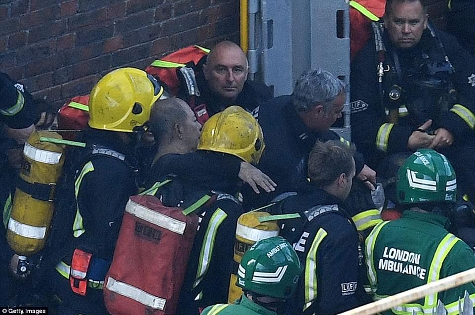 Firefighter Killed Jumper