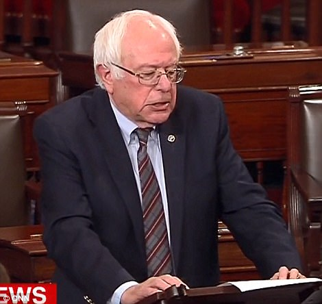 Sanders said he was 'sickened' by the shooting