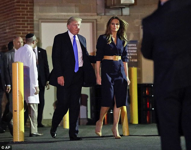 Donald Trump's 71st birthday was scuppered by twin dramas on Wednesday. In the evening he visited a DC hospital where Congressman Steve Scalise was in critical condition after a shooting on a GOP baseball game earlier that day