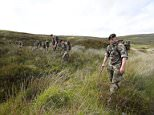Patricia O'Connor, 61, from Rathfarnham in Dublin, was reported missing on June 2, but her dismembered remains weren't discovered in the Wicklow Mountains until more than a week later. Pictured above,Defence Forces personnel assist Gardai officers searching the Military Road area in the Wicklow Mountains