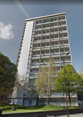 Six tower blocks in Harrow, northwest London, were given the rainproof cladding when it was refurbished in 2015 in a contract worth £3.5million