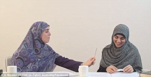 Many in Australia showed strong resistance to Sydney primary school teacher Reem Allouche telling the women's arm of hardline political group Hizb ut-Tahrir that men are permitted to hit women with sticks
