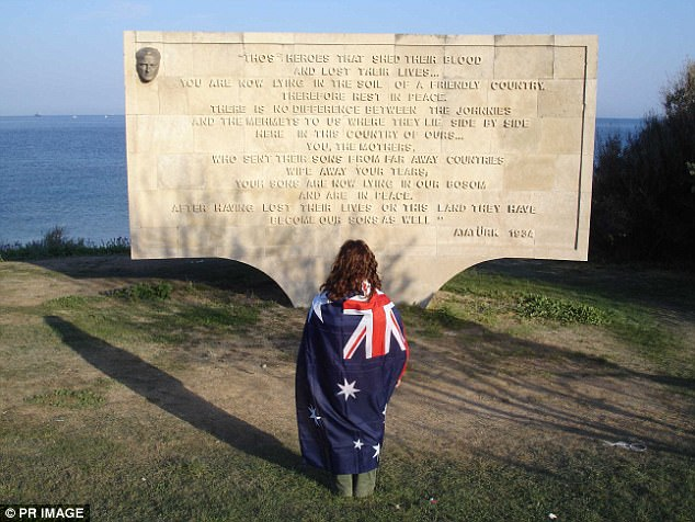 In its hey days the monument provided great comfort to families of fallen Anzac soldiers