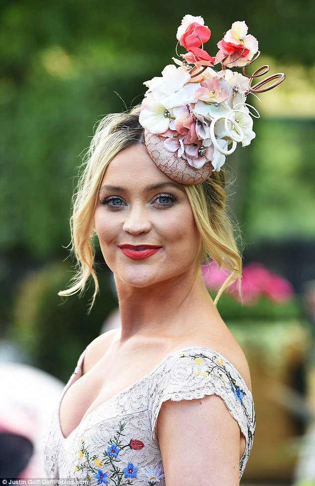 Strictlys Laura Whitmore Attends Royal Ascot Ladies Day