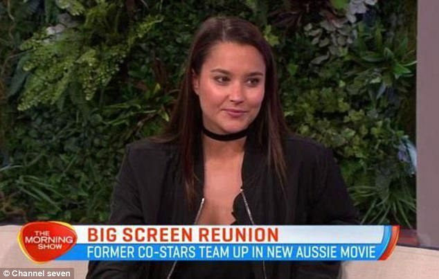 Glamorous Actress Rhiannon Fish Chatted To The Morning Show About Breaking Into Tinsel Town And