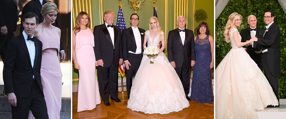 Treasury Secretary Steven Mnuchin marries Scottish fiancee