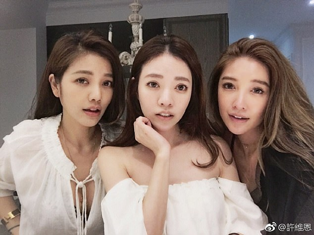 Can you believe their ages? The three Hsu sisters, aged 41, 40 and 36 respectively (from left to right) have shocked media with their incredibly youthful looks