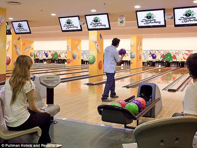 Messi and his Barcelona team-mates will also be able to unwind with some bowling