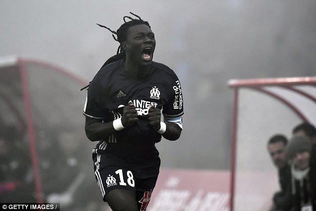 Gomis scored 20 times in 31 appearances in 2016-17 for Marseille during a season-long loan