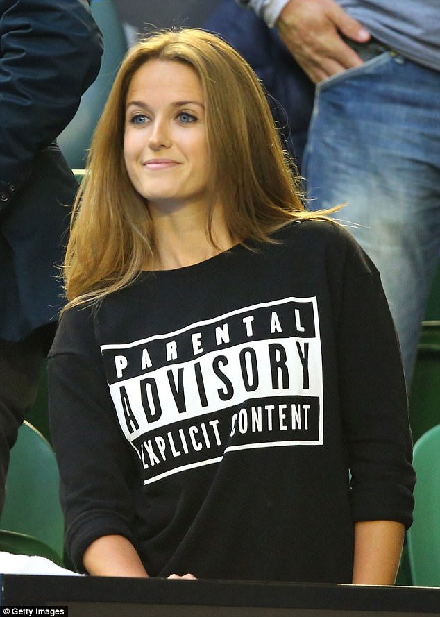 In February 2015, she wore a jumper reading 'Parental Advisory Explicit Content' after apparently mouthing swear words during Andy's match against Novak Djokovic