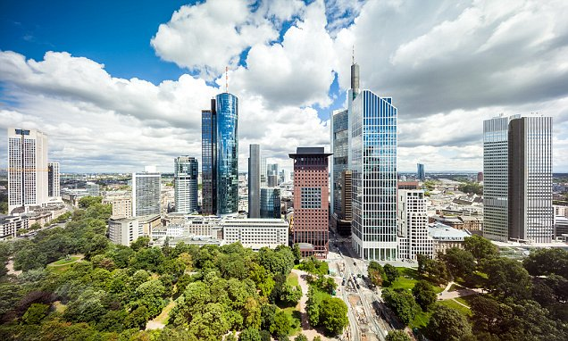 Billedresultat for Germans now the MINORITY in Frankfurt: More than half of residents in the city have a migrant background, official figures show