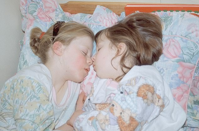 The sisters (Milly on the right) were photographed napping together and her sister Gemma (left)revealed yesterday in heartbreaking detail how she and her mother struggled with the mental trauma of losing a beloved sister and daughter