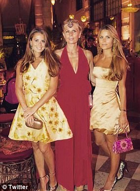 Lydia and Irene's mother Aliai, 50 (pictured with them), met Forte when he was a 36-year-old playboy and she was just 16