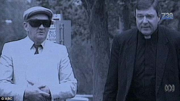 There was George Pell (right), then an auxiliary bishop, walking side-by-side into court with Gerald Ridsdale (left), the man later found to be Australia's worst paedophile priest