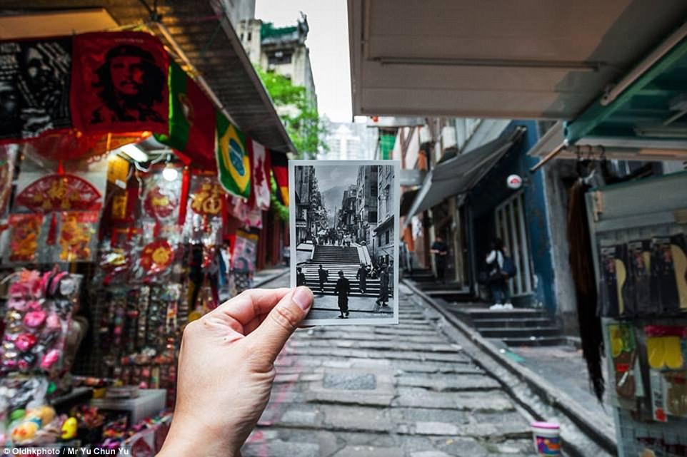Pottinger Street, otherwise known to locals as Stone Slabs Street thanks to its uneven paving, is one of Hong Kong's oldest streets