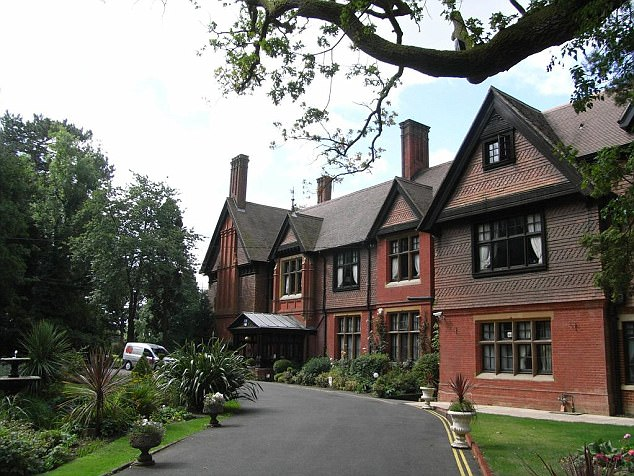 Stanhill Court Hotel, pictured, offers rooms starting at £89 and boasts a fancy restaurant called 1881 - but the overall service wasn't up to scratch