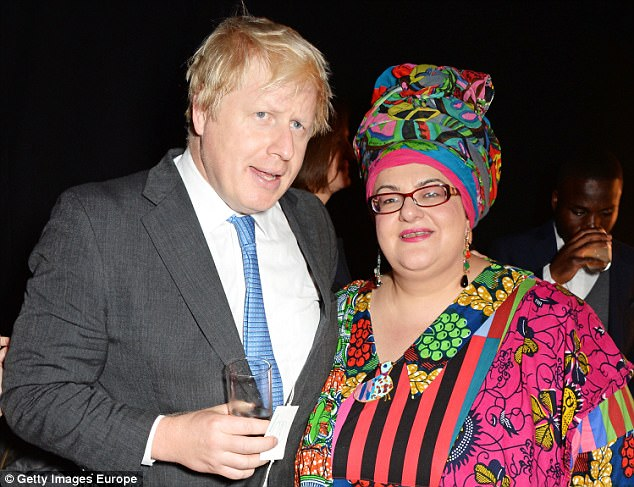 Kids Company received £46 million from the UK taxpayer over 13 years, including £3 million days before it shut. Former Mayor of London Boris Johnson is pictured with Camila Batmanghelidjh London Evening Standard's '1000: London's Most Influential People' in 2014