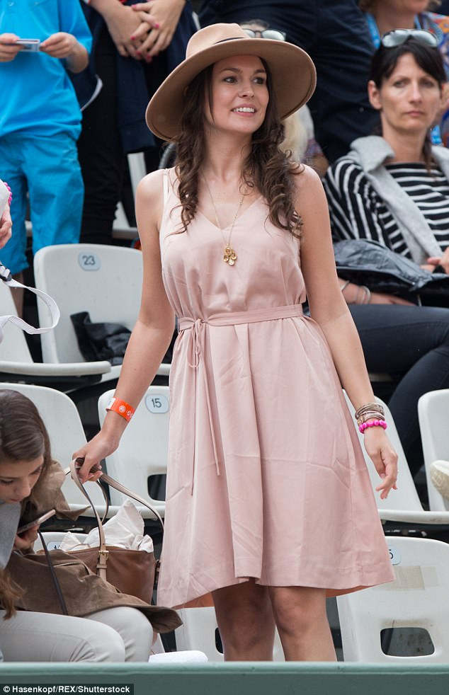 Former Miss Austria contestant Romana Exenberger has been dating Dominic Thiem for two years