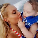 Coco Austin & Her Mini-Me In Cute 4th of July Photos