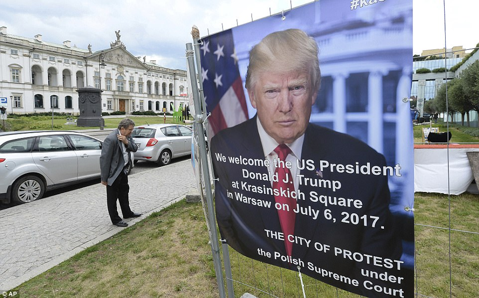 Trump is seen by many Poles as a politician whose nationalism closely mirrors their own