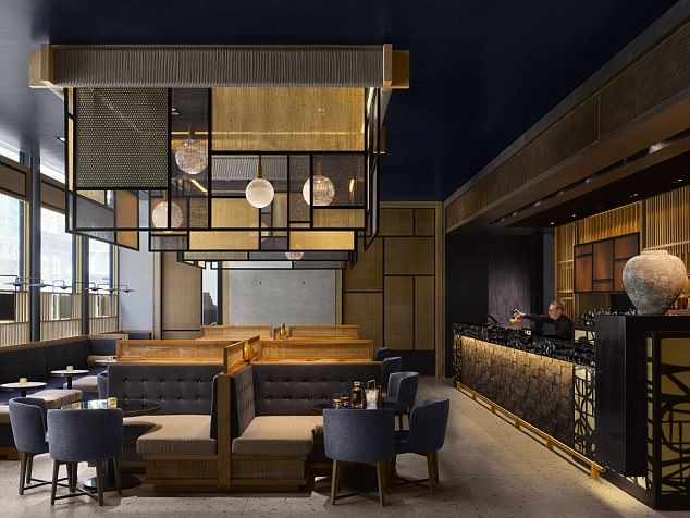 Stylish: East London creativity meets  understated Japanese luxury at Nobu's  first UK hotel