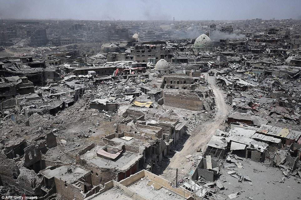 La ciudad estratégica ha estado bajo el control del grupo terrorista durante los últimos tres años