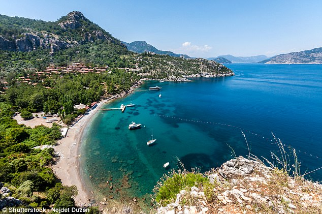 Stay vigilant:The Foreign Office's advice for Turkey (file pic of Marmaris) says there have been various sexual assaults during the summer holiday period at coastal resorts in in recent years