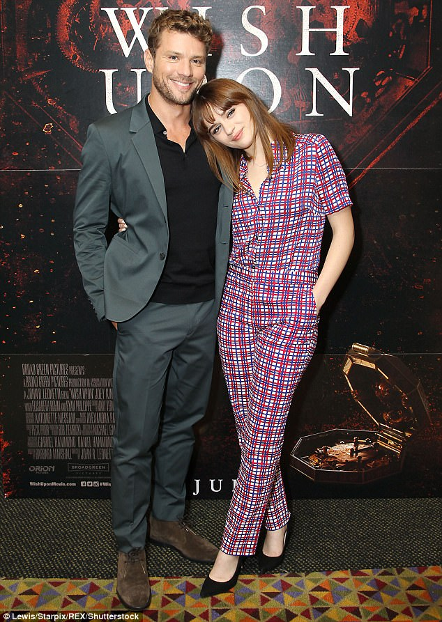 Ryan Phillippe and Joey King