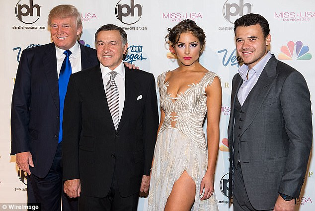 Image result for photos of Agalarov and Trump
