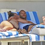 Jeremy Meeks Frolick The Pool With Chloe Green in LA