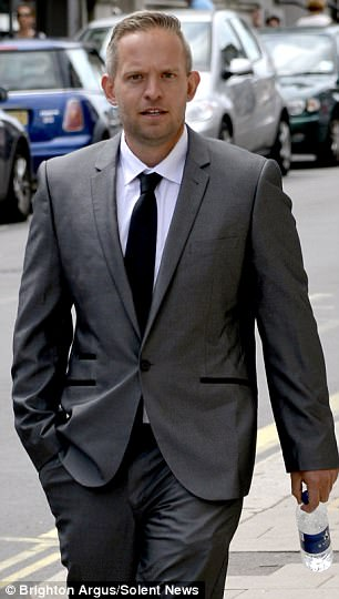'Evil': Mike Spalding, 29, is pleading guilty to abusing schoolgirls while he was a bus driver