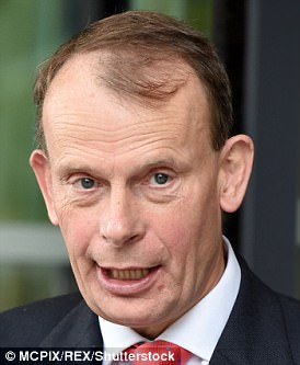 Andrew Marr had his pay cut by a quarter