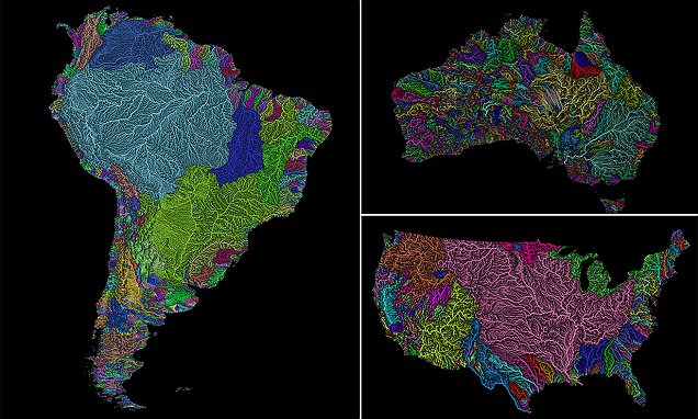 Image result for hydrology map art