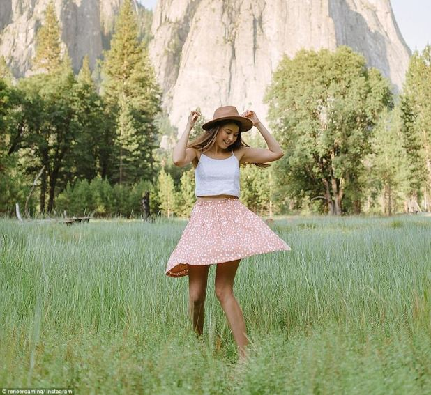 Yosemite National Park: Renee Hahnel, the 27-year-old Australian photographer and blogger behind Renee Roaming , had her first big solo adventure when she went backpacking across South America at 19