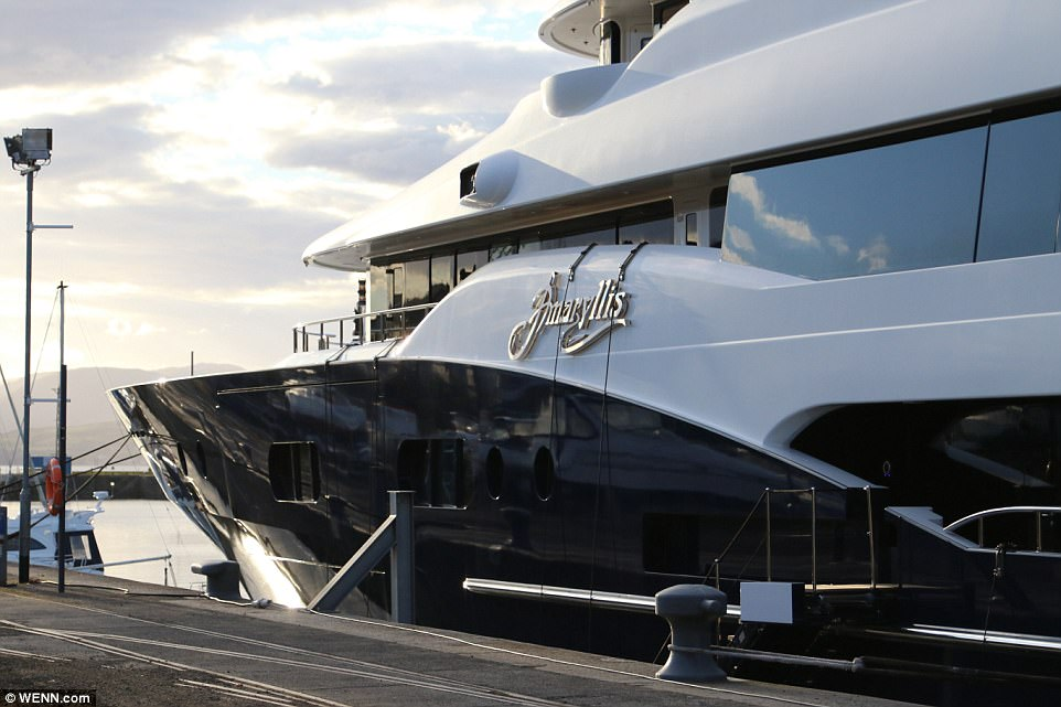 Amaryllis Superyacht Costs 690000 To Charter For A Week
